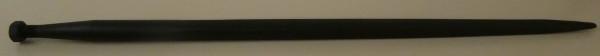 Ballenspieß 1000mm, Gewinde M22 Ø 36mm
