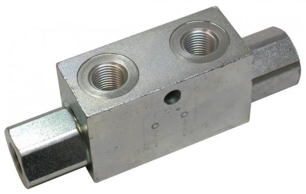 "SPERRBLOCK DW hydraulisch entsperrbar in beide Richtungen, 1/4"""