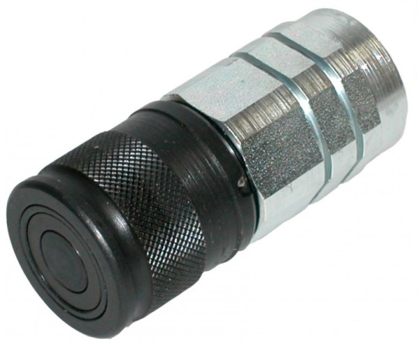 HYDRAULIKKUPPLUNG MUFFE flachdichtend IG3/4 - BG4A, 350 bar Ø 42mm