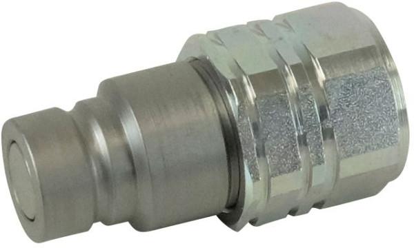 HYDRAULIKKUPPLUNG STECKER flachdichtend IG3/4 - BG4, 350 bar Ø 30mm
