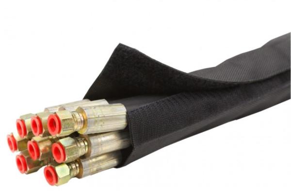 SCHUTZSCHLAUCH mit Klettverschluß, Ø 80mm für Hydraulikschläuche