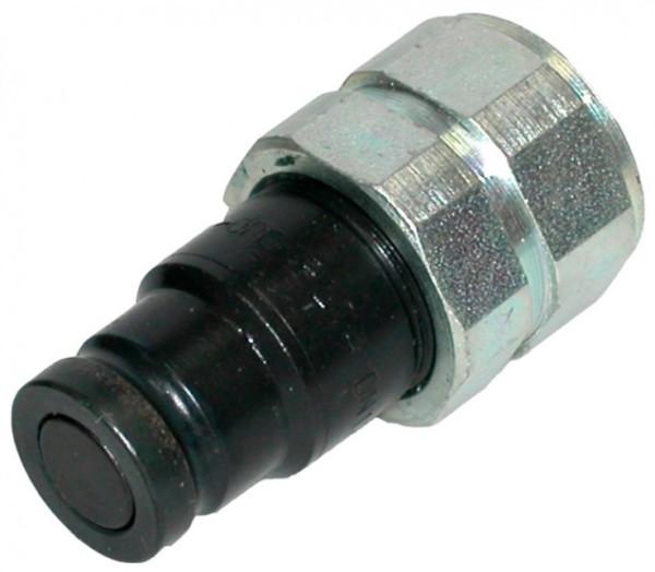HYDRAULIKKUPPLUNG STECKER flachdichtend IG3/8 - BG1, 350 bar Ø 16,2mm