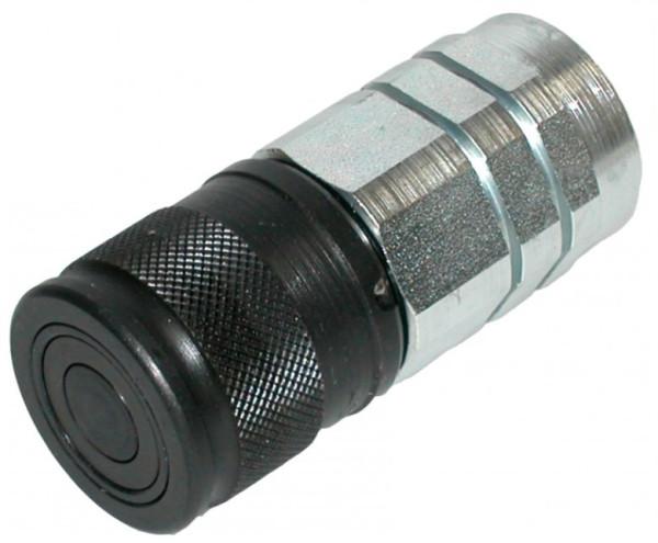 HYDRAULIKKUPPLUNG MUFFE flachdichtend IG3/8 - BG1, 350 bar Ø 28mm